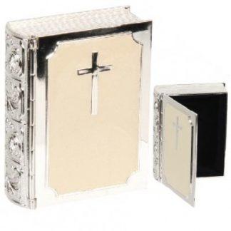 *ENGRAVED FREE WITH NAME & DATE* Bible Trinket Keepsake Box - CG225