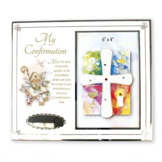 """4"""" x 6"""" My Confirmation Metal Photo Frame"""