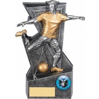 *NEW* Silver Legacy Male Footballer Trophy - 4 Sizes - RF234