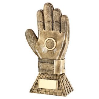 *NEW* Resin Football Goalkeeper Glove Trophy - RF100