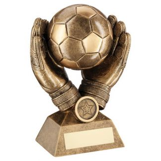 "*NEW* 7.25"" Resin Football Goalkeeper Trophy - RF311"
