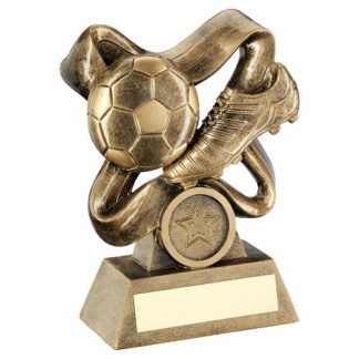 *NEW* Resin Football & Boot Trophy - 3 Sizes - RF514