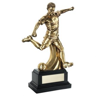 *NEW* Gold Male Football Resin Trophy - 3 Sizes - RF901