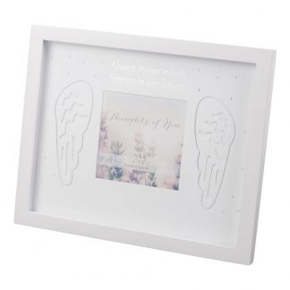 """4""""x4"""" Thoughts Of You In Our Hearts Memorial Frame - FW46844"""
