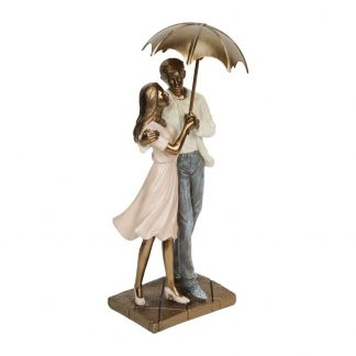 Rainy Day Collection Standing Couple Ornament - 60548